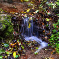 Skromný vodopádek