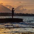 rybář a moře