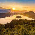 Kouzelné ráno u Bledu