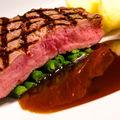 Steak s omáčkou Demi-glace