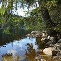 zrcadlení v Prášilském jezeře