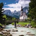 Die Kirche im Ramsau bei Berchtesgaden