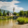 Kostel sv. Jana Křtitele - Jezero Bohinj