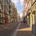 Empty street.