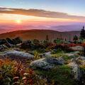 svítání z Luzného