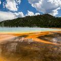 Koupel v Yellowstone