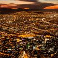Noční Bogotá
