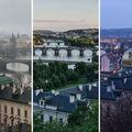 Pražské mosty z Letné