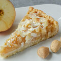 Jablečný koláč s mandlemi