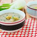 Fenykolovo koprová polévka s knedlíčky
