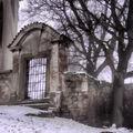 Kostel v mlze