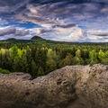 Panorama Lužických hor
