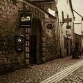 Malá ulice v Plzni