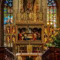 Vánoční ráno v chrámu sv. Barbory