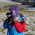 Malá fotografka...