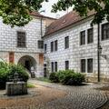 Zákoutí na zámku v Třeboni
