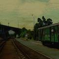 nádraží Praha Braník starý vagon