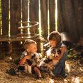 Robin, Sára a štěňátka :)