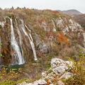 Podzim na Plitvicích  -  Veliki slap
