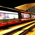 Tramvaj na Trojském mostě