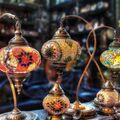 Turecké lampy.