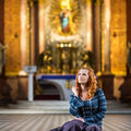 Zasněná v bazilice
