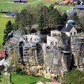 Pohled do hradu