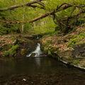 Jeden z vodopádů Brodeslavského potoka