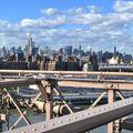 Manhattan - z Brooklynského mostu