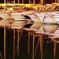 Lodě v Antibes