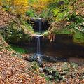 Podzimní vodopádek