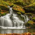 Vodopád na Skalním potoce