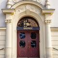 Dvere do radnice Slezske Ostravy