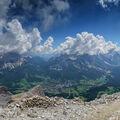 Výhled z Tofany di Mezzo