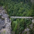 Most Marienbrücke, Neuschwanstein, Bavorsko