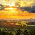 Západ Slunce z Kozince