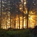 Východ slunce na Zadním Žalým