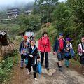 Procházka po vesnici Cat Cat v údolí Muong Hoa nedaleko vietnamsko-čínské hranice.
