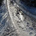 Ve zledovatělém sněhu