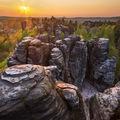 Západ slunce v Tiských stěnách