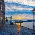Sunset in Dordrecht