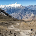 Cesta na Muktinath.