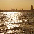 západ slunce nad Benátkami