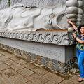 Budha ležící, spící - Nha Trang