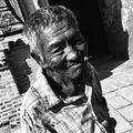 Portrét chudého muže