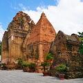 Chamské věže v Nha Trangu.