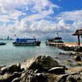 Přístaviště na ostrově Hon Tre