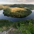 Meandr Vltavy u Solenic