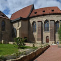 V areálu Anežského kláštera