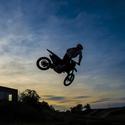Motokrosový západ slunce :)